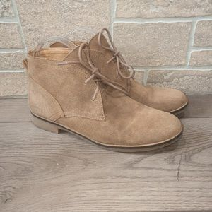 Lucky Brand Lace Up Booties